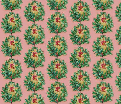 Vintage Christmas decoration fabric by edinburghese on Spoonflower - custom fabric