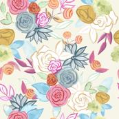 Gouache Floral