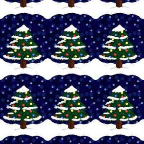 Vintage Christmas tree