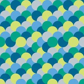 Uneven Circles-Blue
