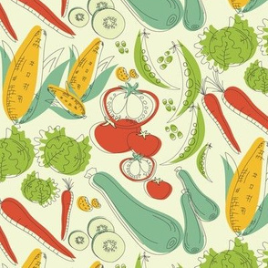 Retro Veggies