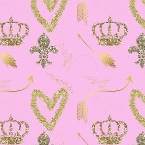 bubble_gum_pink_and_gold_heart_arrow_fairy_dust_crown_fleur_de_lis