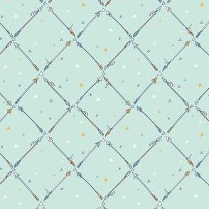 Dainty Arrows - Aqua