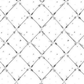 Dainty Arrows - Black & White