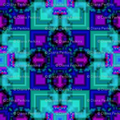 blue star square