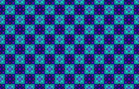 blue star square fabric by dalmars222 on Spoonflower - custom fabric