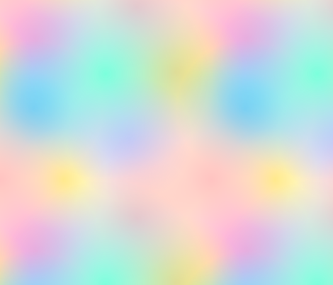 Rainbow Ombre Pale fabric by peppermintpeacock on Spoonflower - custom fabric