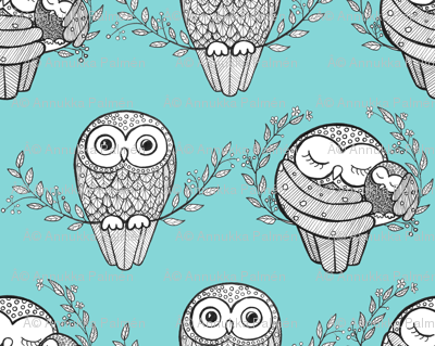 Turqoise Owls