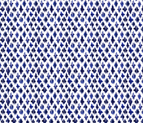 Shaking ultramarine fabric by katerinaizotova on Spoonflower - custom fabric