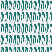 SEASHELL dark green on grey