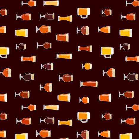 CHEERS (vert01) fabric by mcclept on Spoonflower - custom fabric