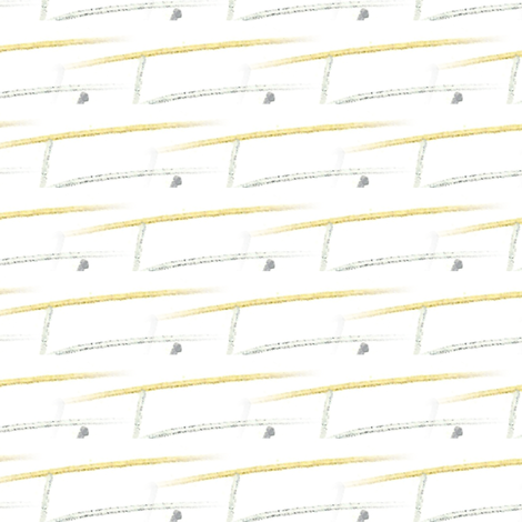 Metallic Dash fabric by edjeanette on Spoonflower - custom fabric