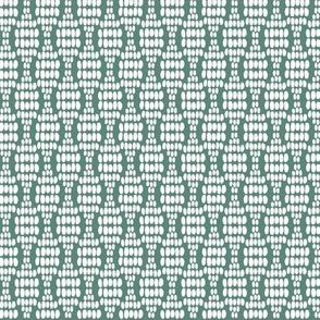 Green / Teal dot waves