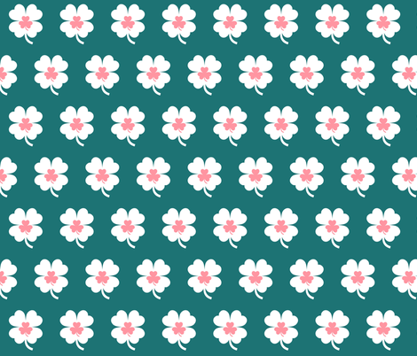 Lucky Day? fabric by thepinkhome on Spoonflower - custom fabric