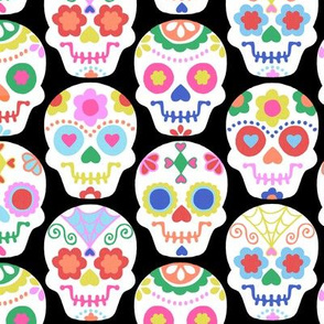 Sweet Calaveras - Black