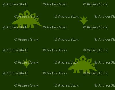 Stegosaurus Coordinate - Green