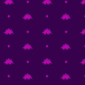 Stegosaurus Coordinate - Purple