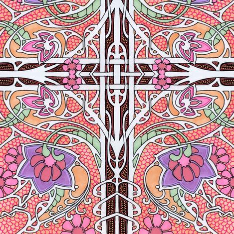 Wind Blown Romance fabric by edsel2084 on Spoonflower - custom fabric