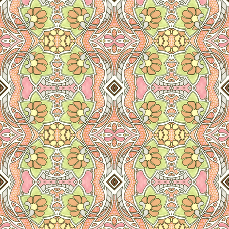 Enjoy the Warm Sun While You Can fabric by edsel2084 on Spoonflower - custom fabric