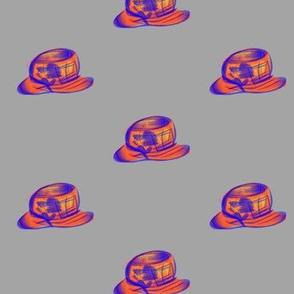 Fun Hat, Sunhat on Mid Grey