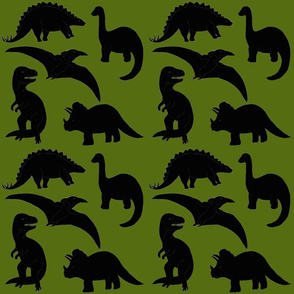 Dinosaurs on Olive