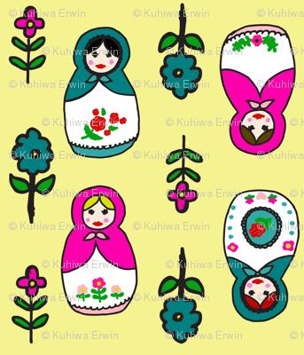 Russian Dolls Buttercream