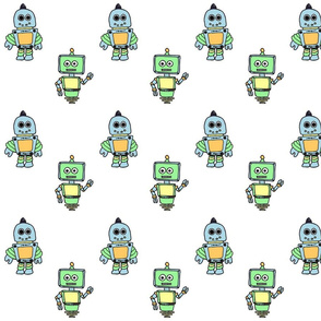 Pastel Robots