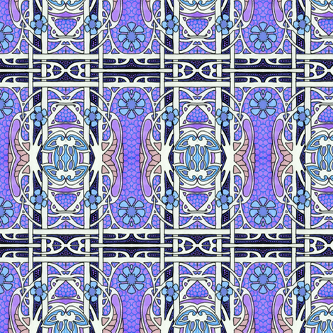 Revolt of the Edwardian Heater Grates fabric by edsel2084 on Spoonflower - custom fabric