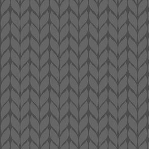Fallknit (chunky) - grey