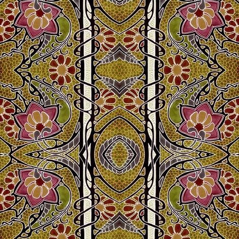 Autumn Mosaic fabric by edsel2084 on Spoonflower - custom fabric