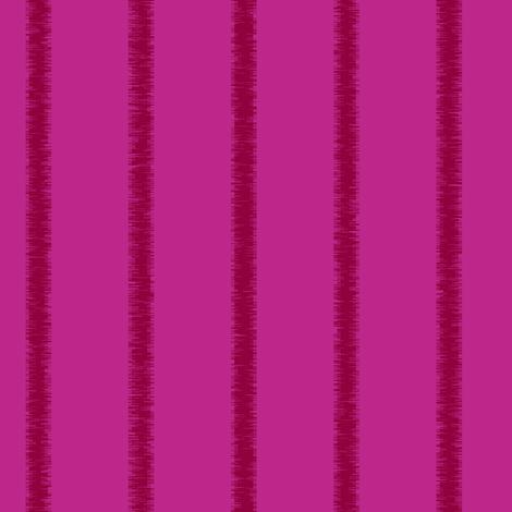 Fringed, tone on tone, magenta stripe, lengthwise fabric by maryyx on Spoonflower - custom fabric
