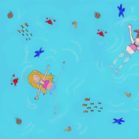 Summer fun fabric by littlebittyprints on Spoonflower - custom fabric