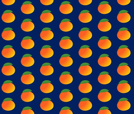 Mango Repeatsie fabric by lowa84 on Spoonflower - custom fabric