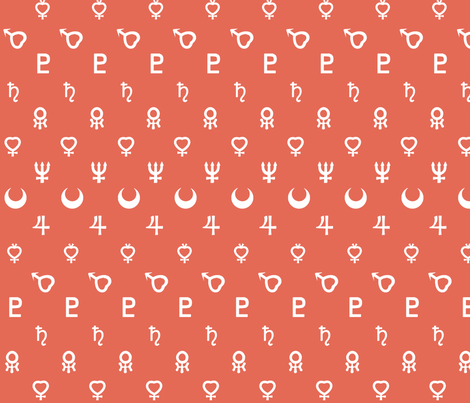 Scout Symbols fabric by lowa84 on Spoonflower - custom fabric