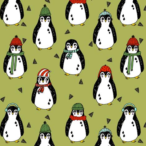 Cute Winter Penguin Wallpaper Download