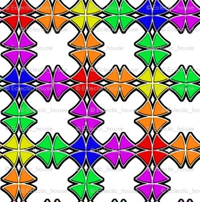 Rainbow Circle Wedges
