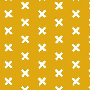 Get crossed! - mustard custard