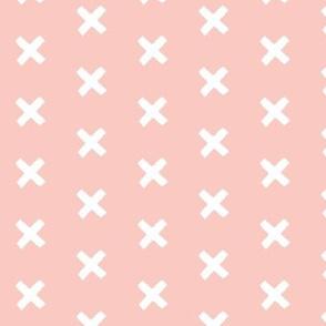 Get crossed! - baby pink