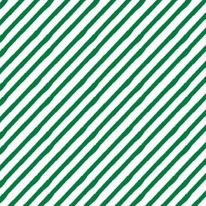 kelly green || candy stripe