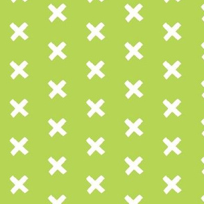 Get crossed! - green tea