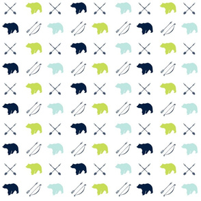 bear and arrows || the bear creek collection