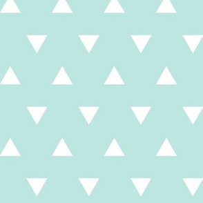 triangles (small scale) - paramour blue