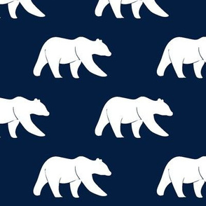 bear on navy || the bear creek collection