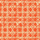 Roundabout - Light Tangerine, Vanilla