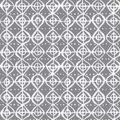 Roundabout - Dove Grey & White