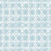Roundabout - Light Blue Grey & White