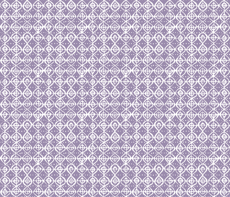 Roundabout - Smoky Grape & White fabric by jodiebarker on Spoonflower - custom fabric