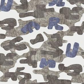 FRUMAFAR CAMOUFLAGE -blue violet -