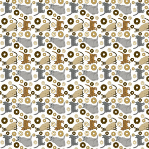 cats_white_dish_towel