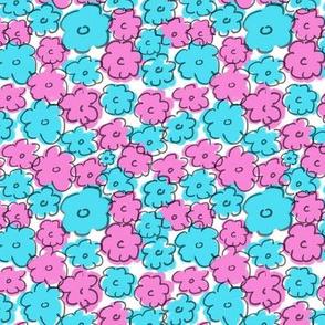 Abstract Daisies 3